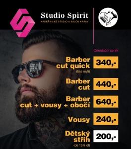 Studio Spirit | Blog | Akce u kadeřnice Nebelvíry